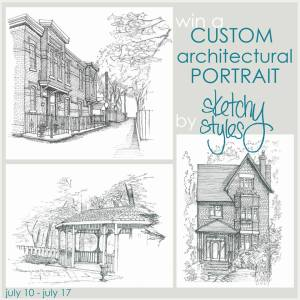 Custom Architectural Drawing {The Winner}