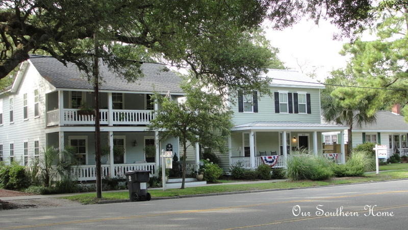 historical homes of southport