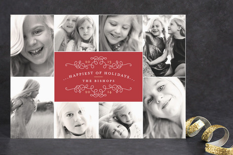 Classic Collage Holiday Postcards