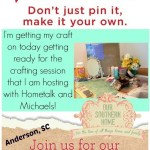 Michaels Pinterest Party
