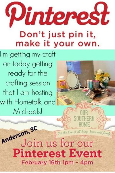 Michaels Pinterest Party
