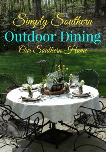 Simply Southern Outdoor Dining