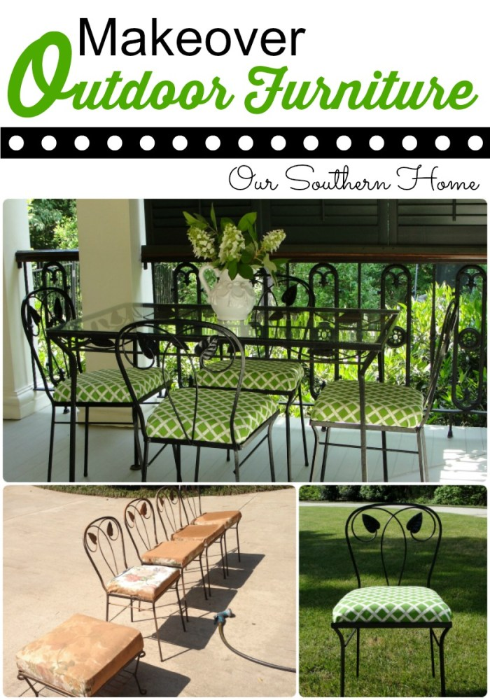 Outdoor Fabric Updates Our Southern Home