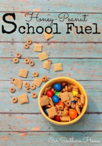 Honey-Peanut School Fuel to the Rescue