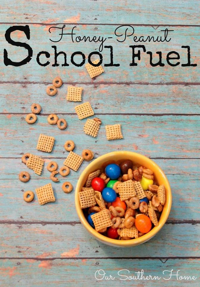 Honey-Peanut School Fuel to the Rescue