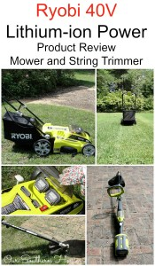 Ryobi Mower and String Trimmer Review