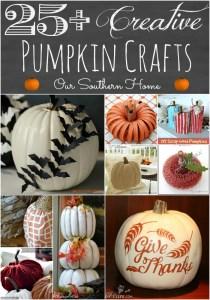 Creative Pumpkin Crafts