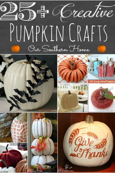Creative Pumpkin Crafts
