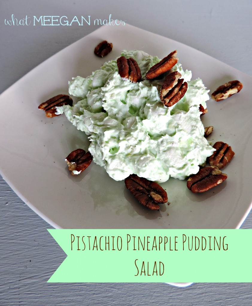Pistachio Pineapple Pudding Salad