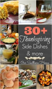 Over 30 Thanksgiving Side Dishes