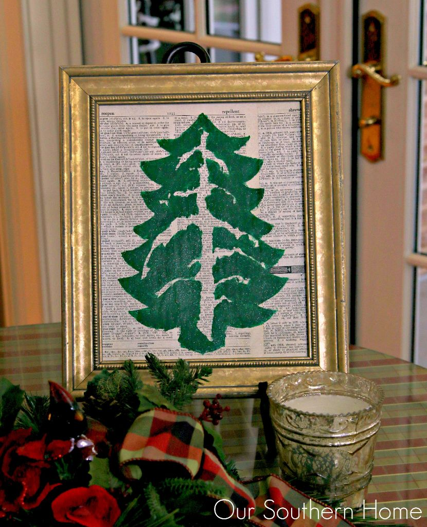 My gift from What Meegan Makes. Visit her blog for the full tutorial!