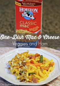 One Dish Mac and Cheese