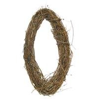"""24"""" Natural Grapevine Oval WreathNew by: CC"""