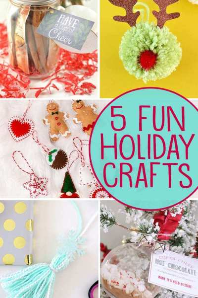 holiday crafts graphic