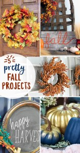 5 Pretty Little Fall Projects