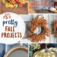 5 Pretty Little Fall Projects