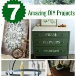 7 amazing DIY projects from Inspiration Monday link party!