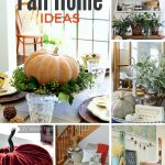 Beautiful fall ideas for the home with features from this week's Inspiration Monday party!