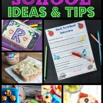 Back to school ideas from the features of Inspiration Monday link party!