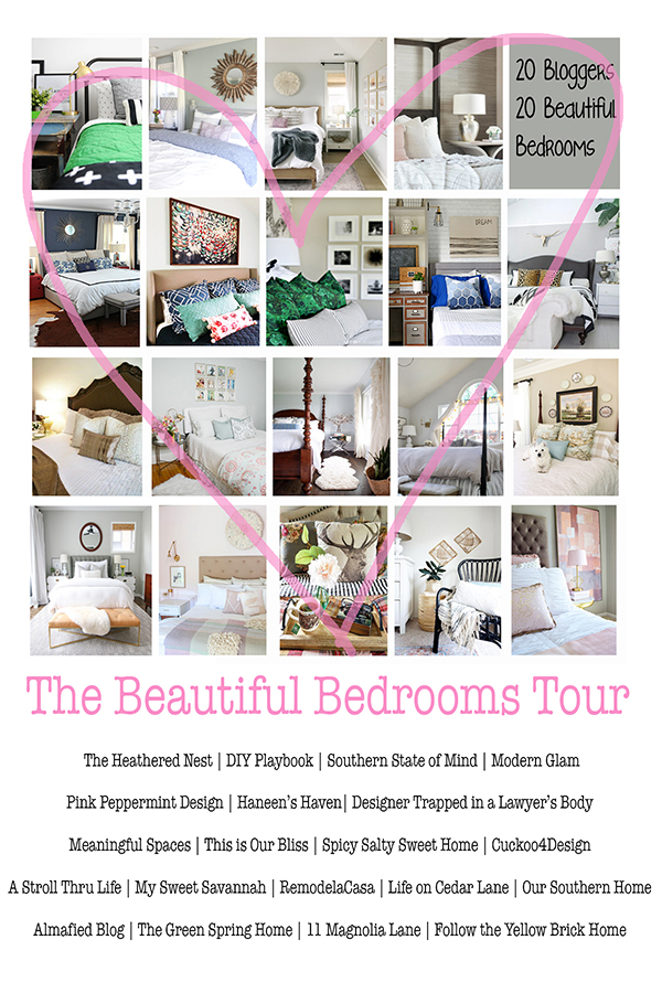 Beautiful bedrooms tour features top bloggers sharing inspiration for your home!