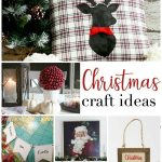 Christmas Craft Ideas are the features from this week's Inspiration Monday link party.