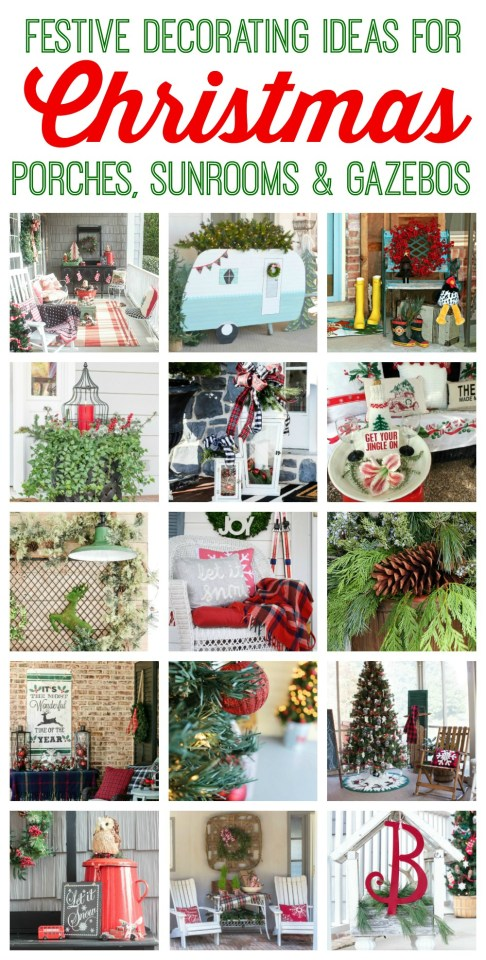 Blogger porch tour full of amazing ideas for Christmas and beyond!