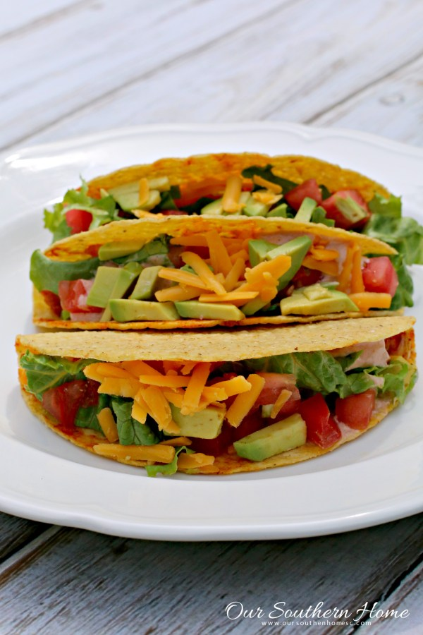 Cinco De Mayo Chicken Tacos by Our Southern Home #sp  #publixfiesta