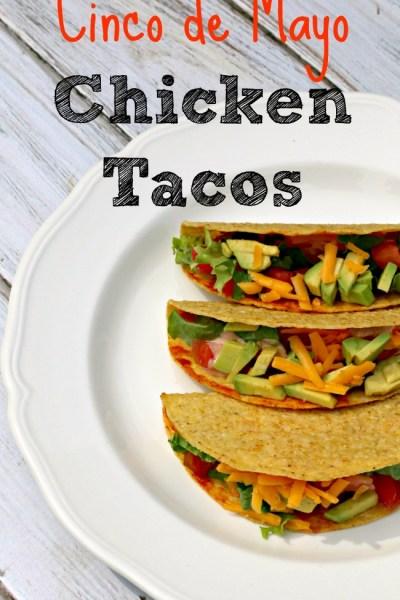 Cinco de Mayo Chicken Tacos