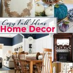 Cozy ideas for the home are the features from this week's Inspiration Monday link party!