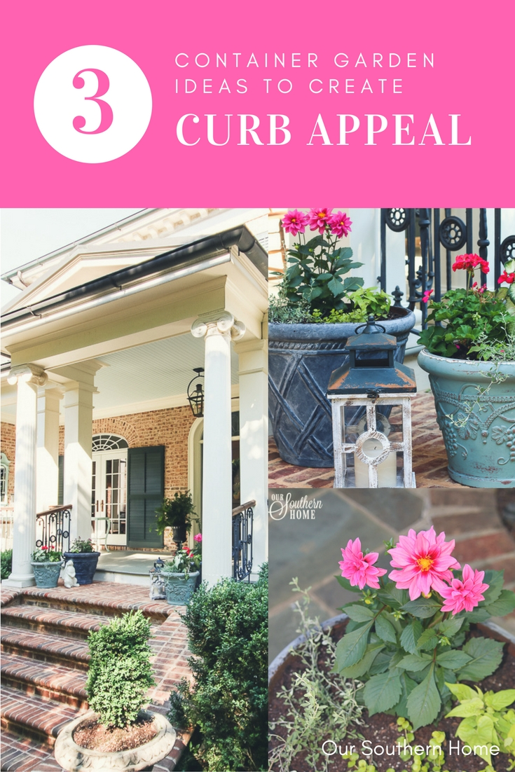 Pops Of Color Create Curb Appeal