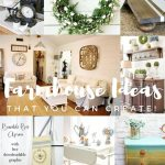Farmhouse Ideas for the Home from Inspiration Monday link party!