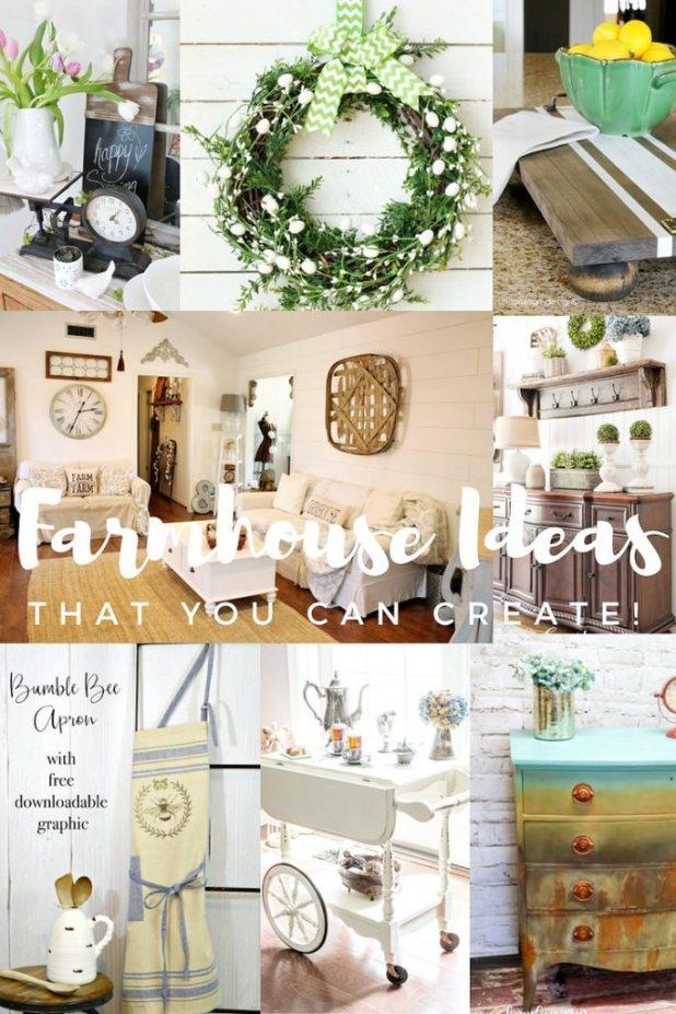 Creative farmhouse ideas that you can create
