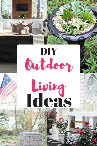 DIY Outdoor Living Ideas