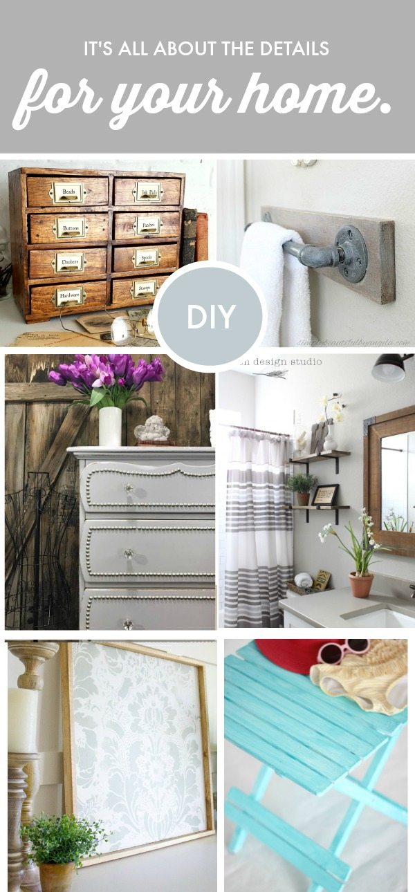 DIY details to make your home one of a kind