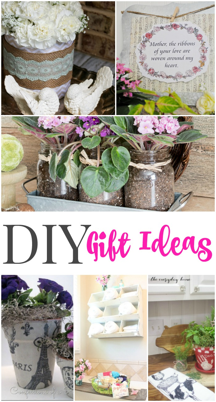 DIY Gift Ideas for her - Perfect for Mother's Day via Our Southern Home