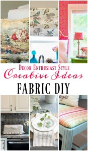 DIY Projects with a Yard of Fabric
