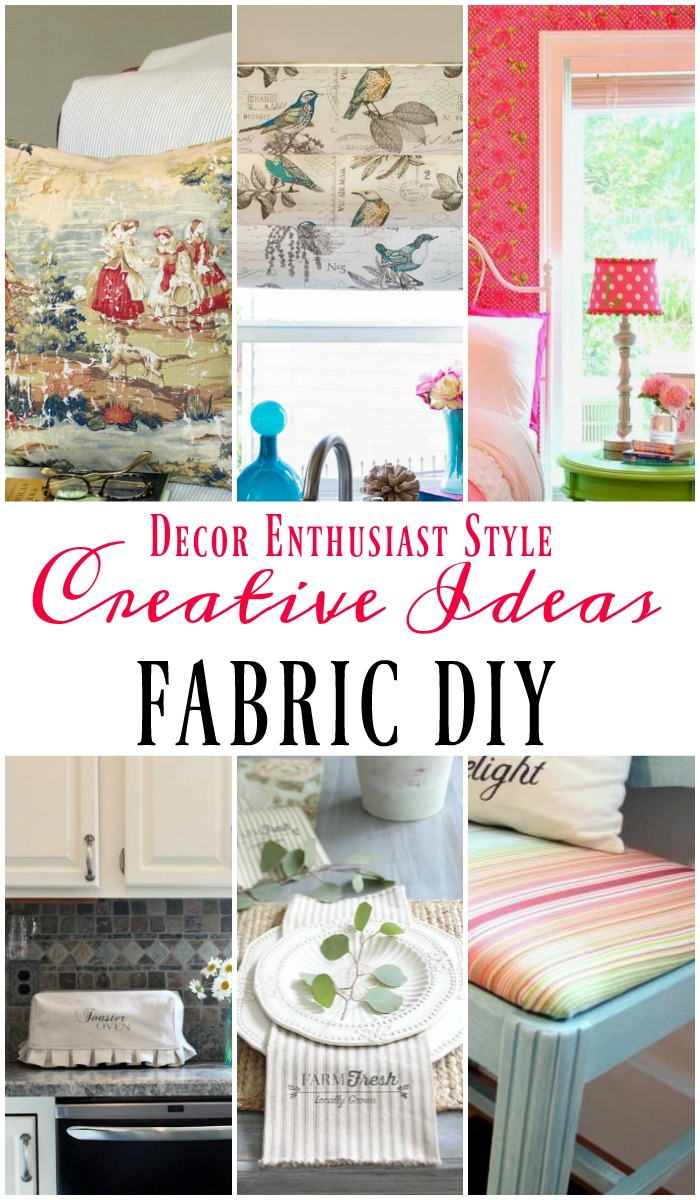 diy fabric craft ideas diy projects with a yard of fabric our southern home 4251