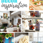 DIY, Decor and Recipes are the features from this week's Inspiration Monday link party!