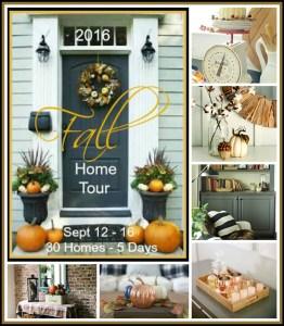 2016 Fall home tours full of decorating inspiration!