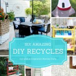 DIY recycled project ideas are the features from this week's Inspiration Monday link party!