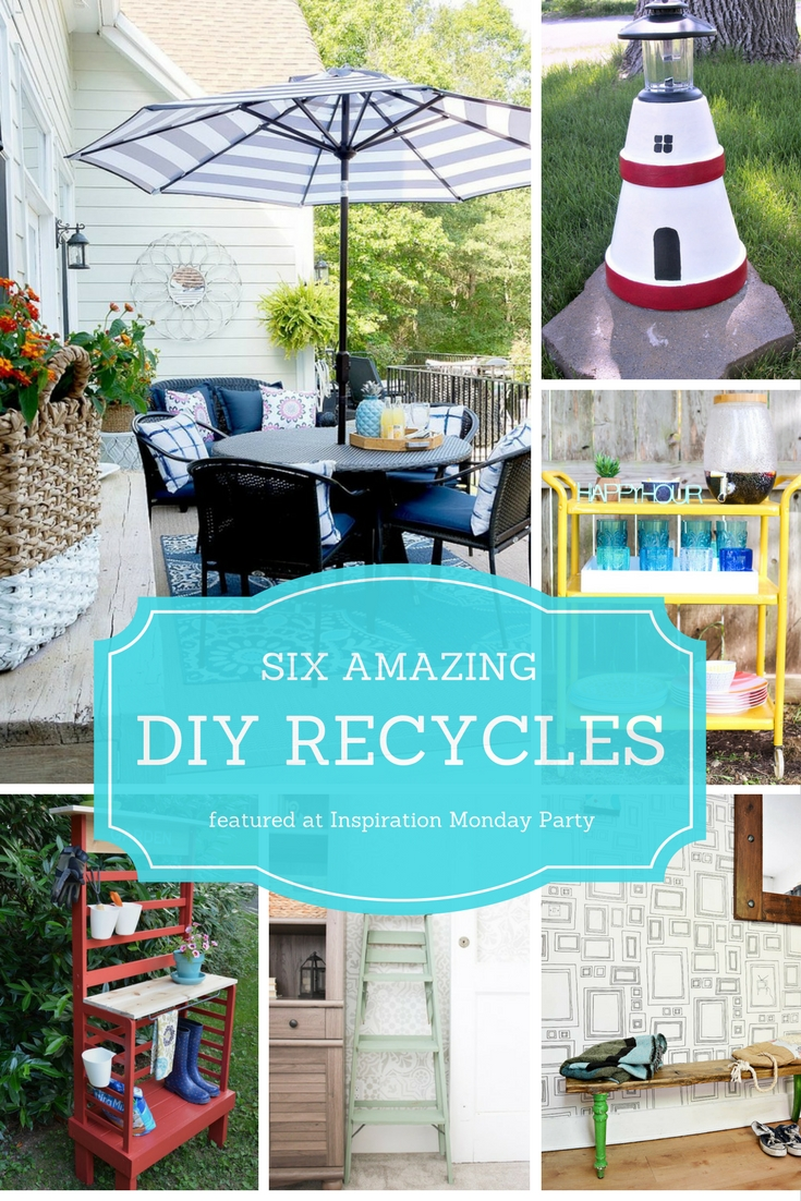 Inspiration Monday Party Features - DIY Recycles