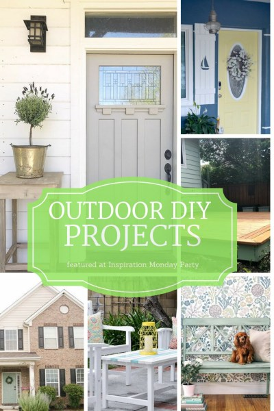 Six fantastic outdoor projects are the features from this week's Inspiration Monday link party!