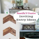 Features from Inspiration Monday to Inspire your entryway