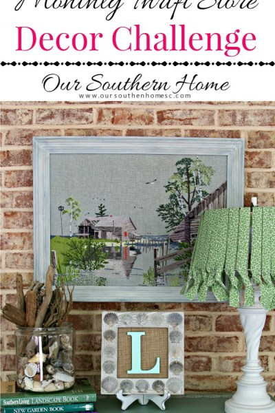 Coastal Needlework Makeover