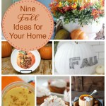Fall ideas for the home are the features from this week's Inspiration Monday link party! Come link up you creativity for a chance to be featured.