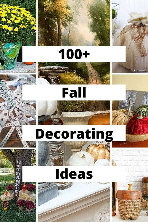 fall decorating graphic