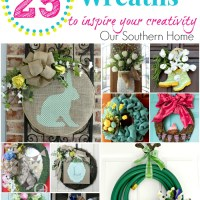 25 Spring and Summer Wreaths