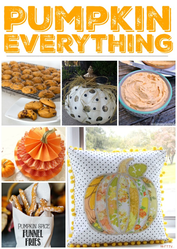 Pumpkin Everything Collage Features