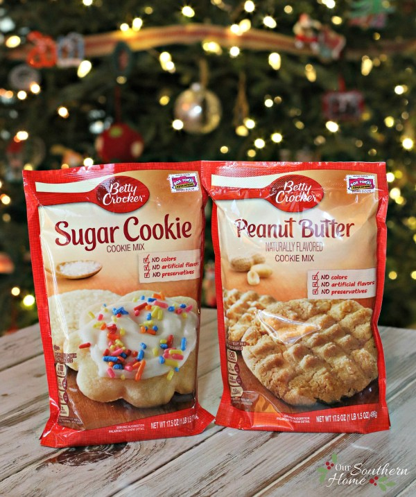 Christmas baking just got easier with Betty Crocker Cookie mixes via www.oursouthernhomesc.com / #bakingwithbetty #ad