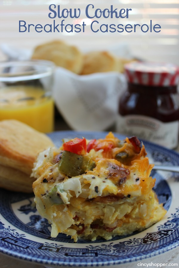 Breakfast recipe collection our southern home for Slow cooker breakfast recipes for two